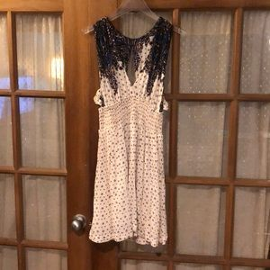 Printed free people mini